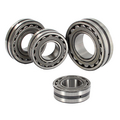 Self aligning roller bearing
