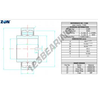 11306-ZEN - 30x72x52 mm