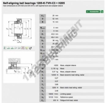 1205-K-TVH-C3-H205-FAG