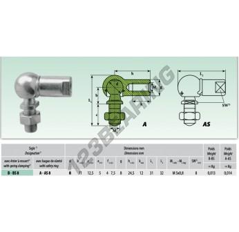 ASL008 - 8x8x8 mm