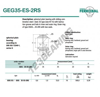 GEG35-ES-2RS-DURBAL