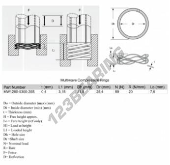 MW1250-0300-20S - 0.4 mm