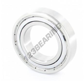 S6007-ZZ-J-CB-SI3N4-LD-ZEN - 35x62x14 mm