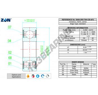 HYB-S608-2RS-T9H-CB-AF2-ZEN
