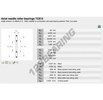 TC613-INA - 9.53x20.64x1.98 mm