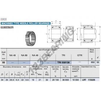 TRI558138-IKO - 55x81x38 mm