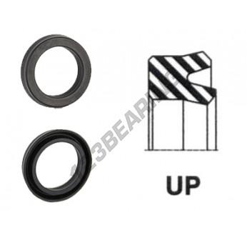 UP-133X150X7.50-NBR90 - 133x150x7.5 mm