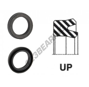 UP-144X160X10-NBR90 - 144x160x10 mm